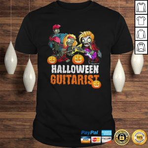 Zombie Guitar Undead Halloween Guitarist Shirt Shirt