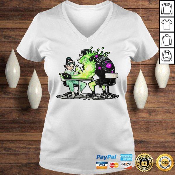 Funny Nurse And Covid 19 Virus 2020 Shirt Ladies V-Neck