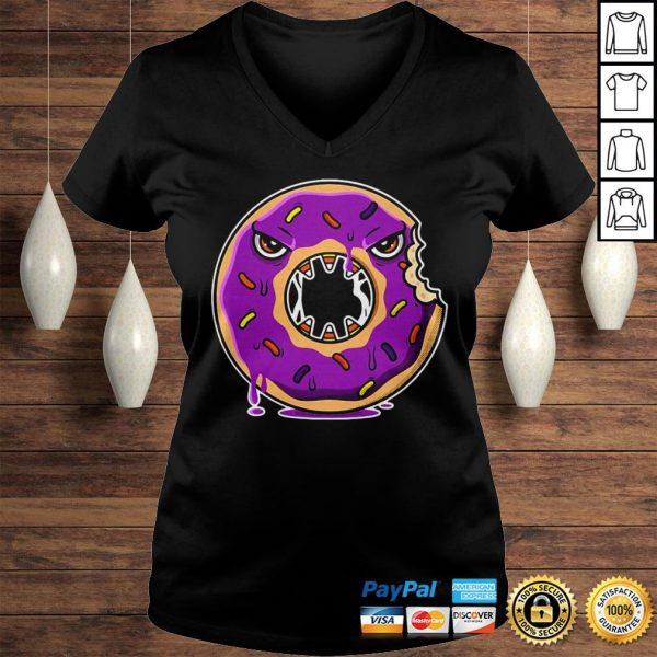 Official Donut Halloween Gift Idea Hood Ladies V-Neck