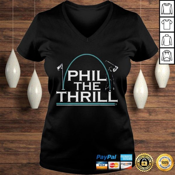 Phil the Thrill Shirt Ladies V-Neck