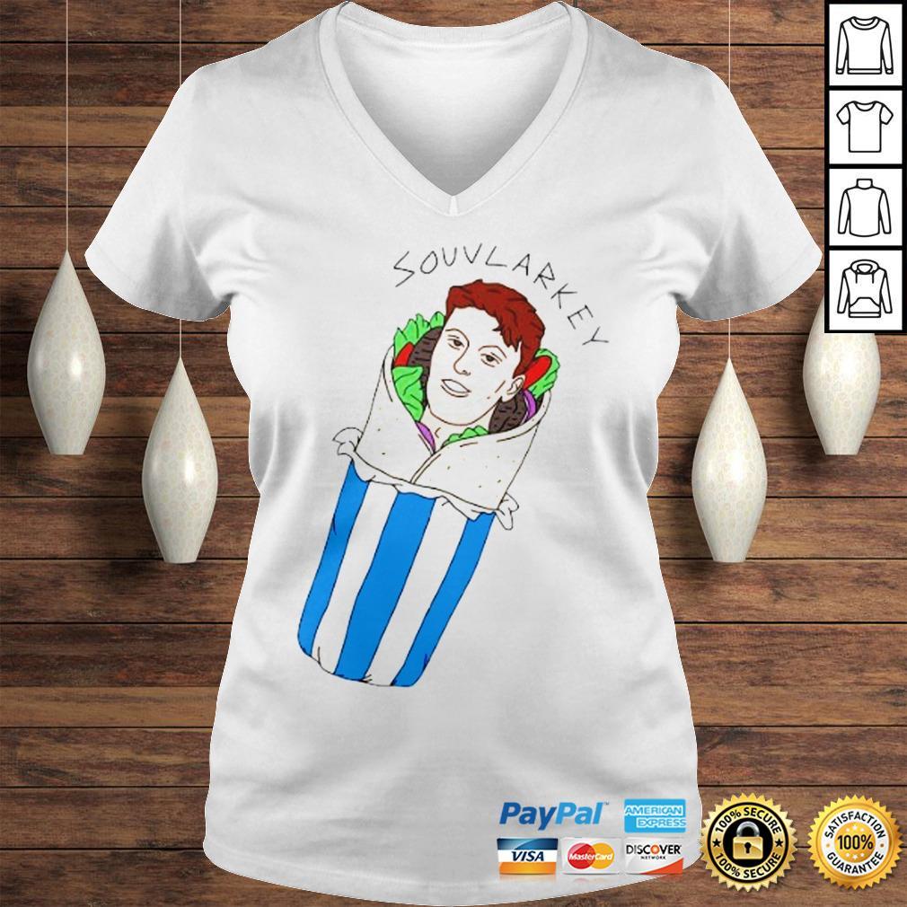 Souvlarkey Shirt Ladies V-Neck