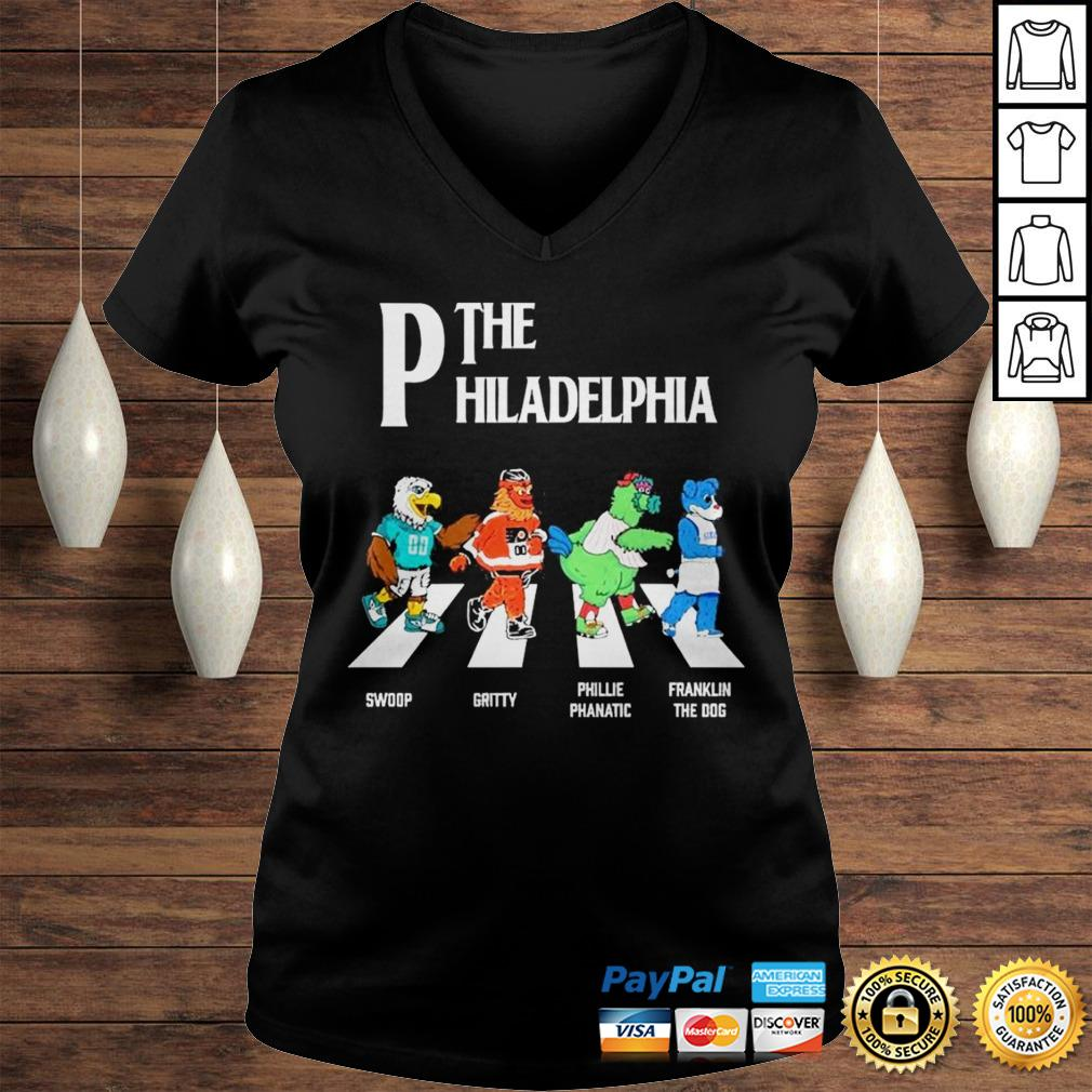 The Philadelphia Abbey Road shirt Ladies V-Neck
