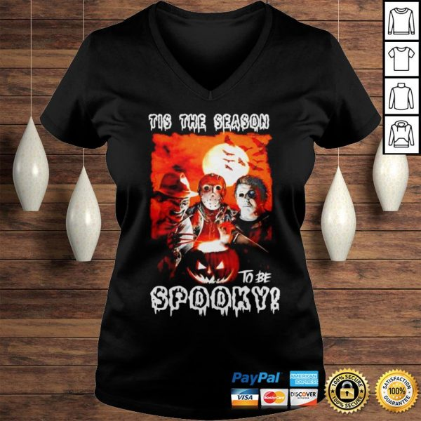 This the season to be spooky halloween shirt Ladies V-Neck