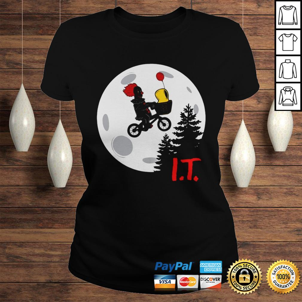 Pennywise IT Moon Halloween Shirt Classic Ladies Tee