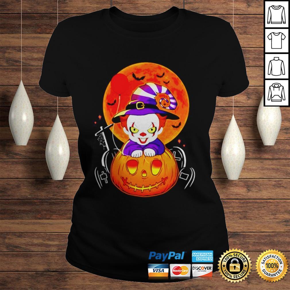 Pennywise pumpkin Halloween shirt Classic Ladies Tee