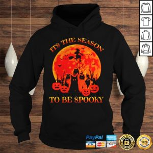 Halloween Cat Its The Season To Be Spooky shirt Hoodie