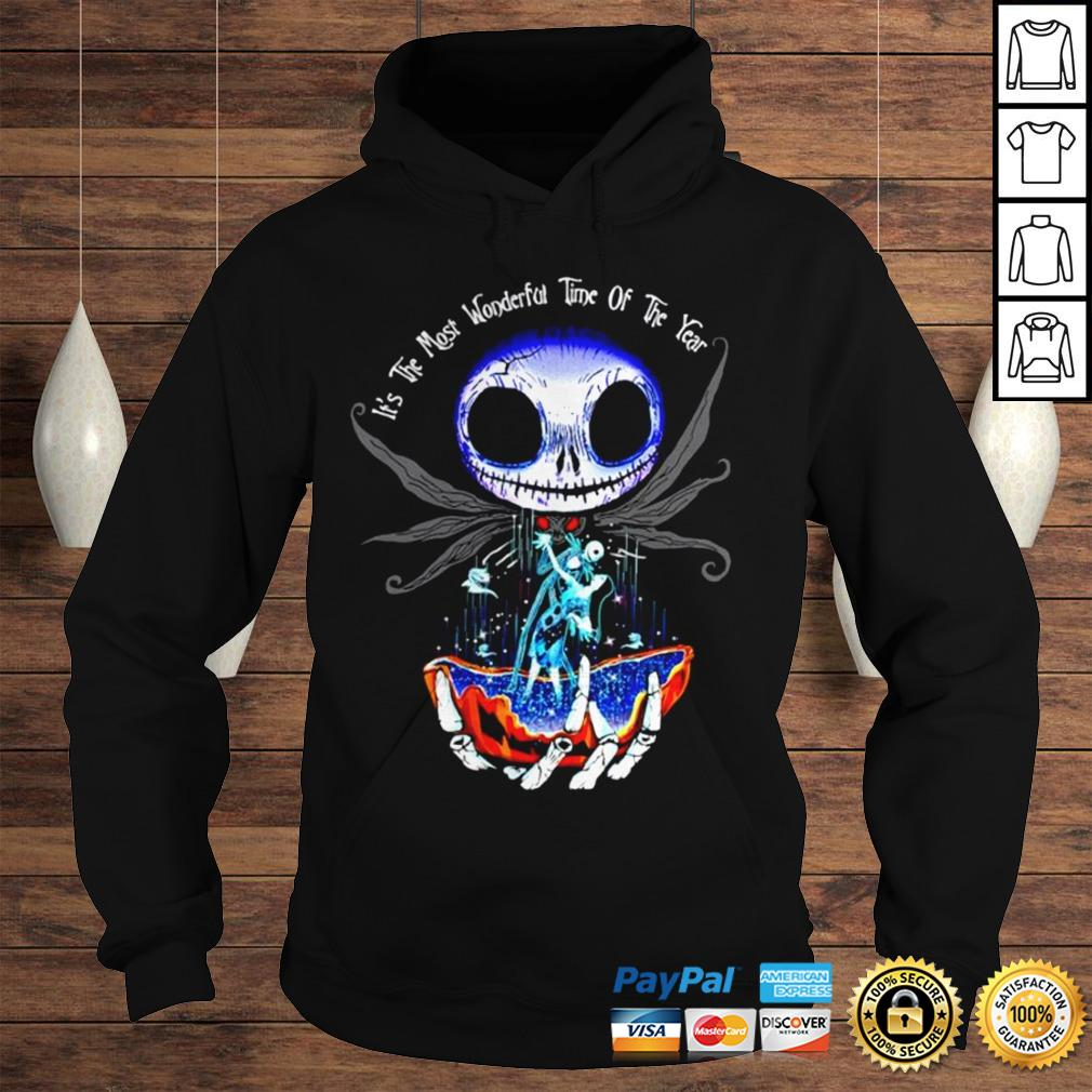 Jack Skellington and Sally its the most wonderful time of the year shirt Hoodie