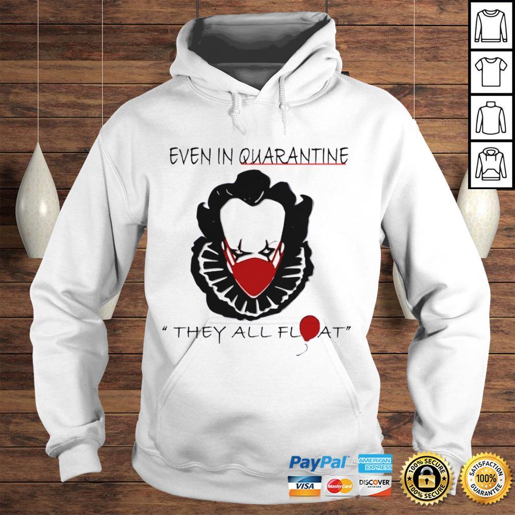 Pennywise Quarantine Halloween Horror Movies TShirt Hoodie