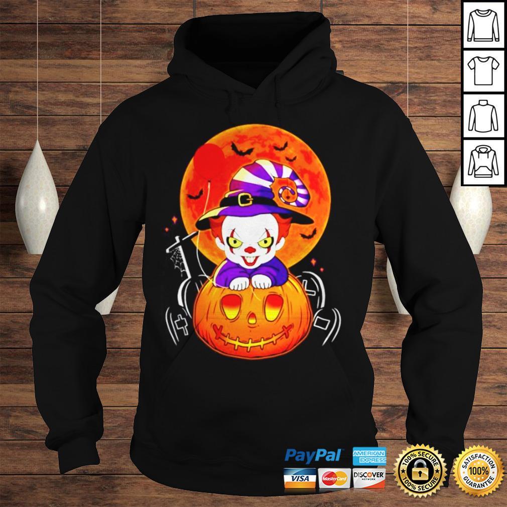 Pennywise pumpkin Halloween shirt Hoodie