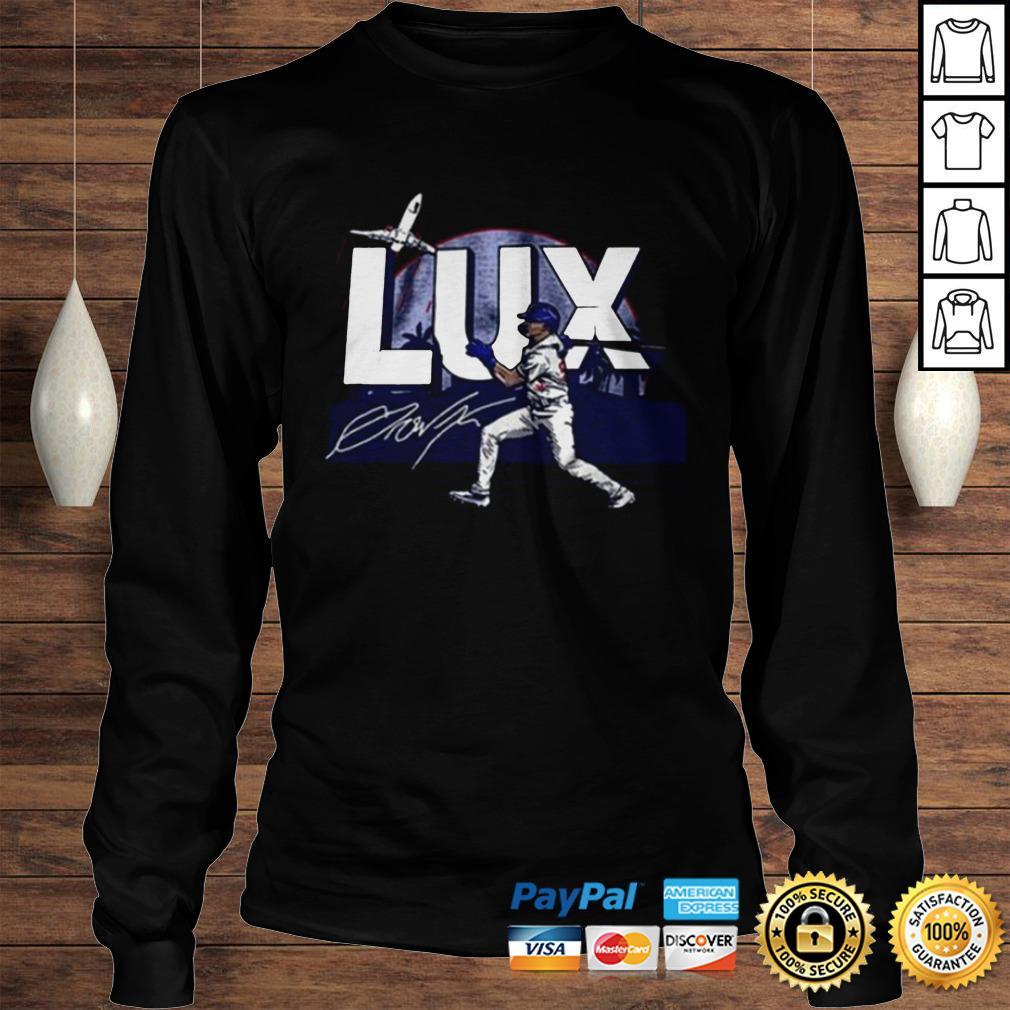 LUX Los Angeles Baseball shirt Longsleeve Tee Unisex
