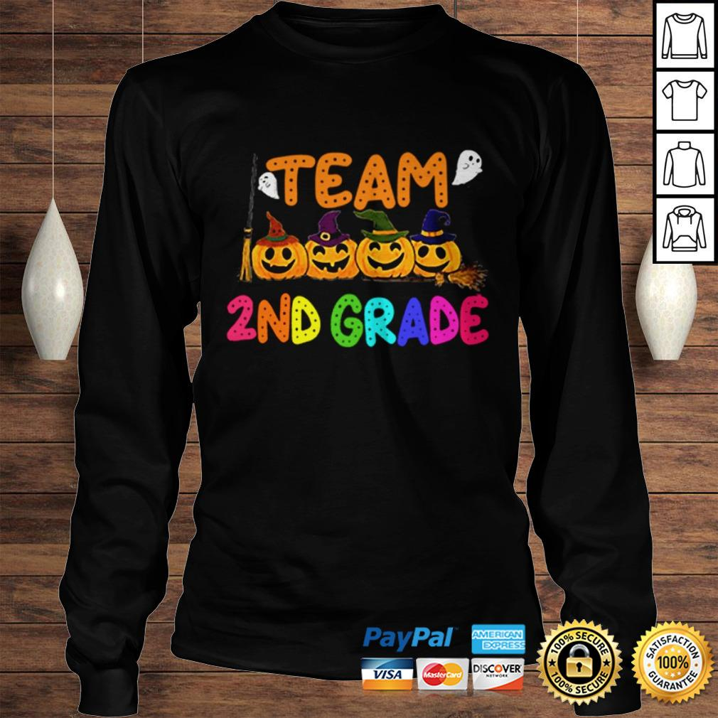 Team 2nd Second Grade Costumes For Student Shirt Longsleeve Tee Unisex