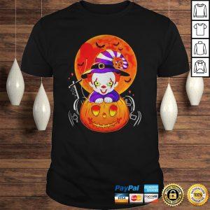 Pennywise pumpkin Halloween shirt Shirt
