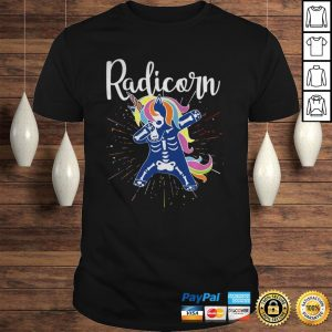 Radicorn Dabbing Halloween Shirt Shirt