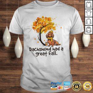 Dachshund Had A Great Fall Halloween Shirt Shirt