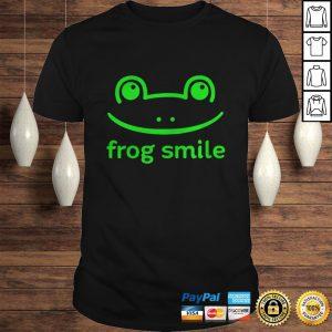 Frog Smile Shirt Shirt