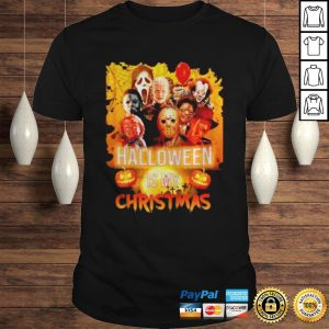 Horror character halloween is my christmas shirt Shirt