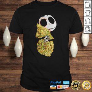 Jack Skellington Hug Cannabis Shirt