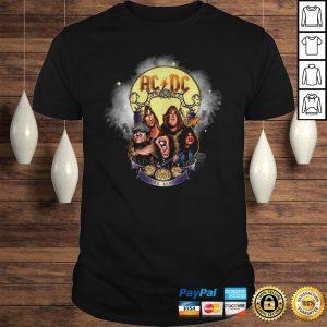 Official Ac Dc Rock Band Comic 2020 Halloween Shirt Shirt