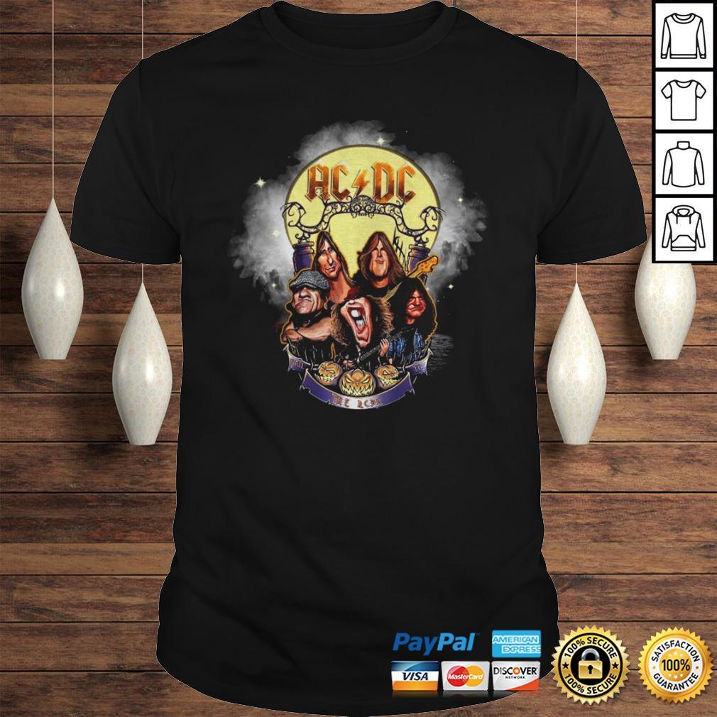Halloween 2020 Dc Official Ac Dc Rock Band Comic 2020 Halloween Shirt   teegogo.com