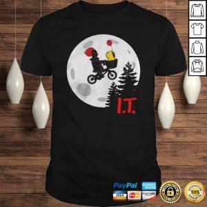 Pennywise IT Moon Halloween TShirt Shirt