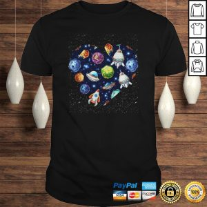 Space Heart Shirt Shirt