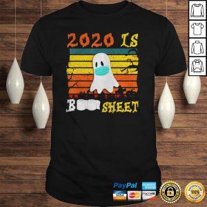 Vintage 2020 is Boo Sheet Halloween Boo in Mask TShirt Shirt