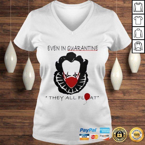 Pennywise Quarantine Halloween Horror Movies TShirt