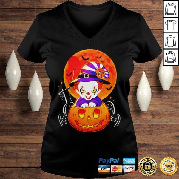 Pennywise pumpkin Halloween shirt