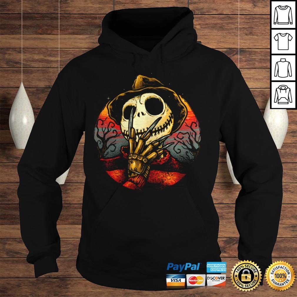 Jack Skellington Freddy Krueger Shirt Hoodie