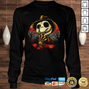 Jack Skellington Freddy Krueger Shirt