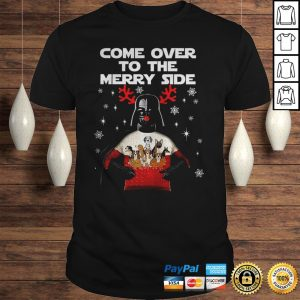 Darth Vader Come Over To The Merry Side Shirt
