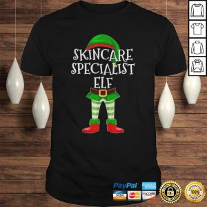 Skincare Specialist Elf Matching Family Christmas design TShirt Shirt