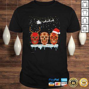Skull christmas shirt Shirt