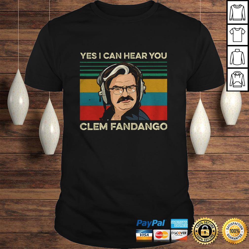 Toast Of London Yes I can hear you clem fandango vintage shirt