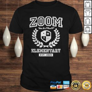 Zoom Elementary Distance Learning shirt Shirt
