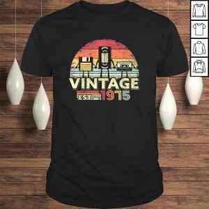 1975 Shirt. Vintage Birthday Gift, Funny Music, Tech Humor TShirt