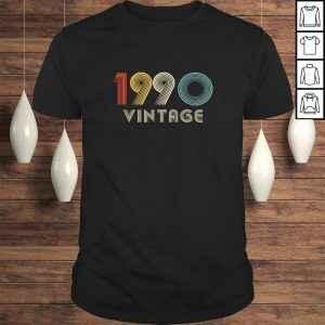 1990 Birthday Gift 1990 Vintage Shirt