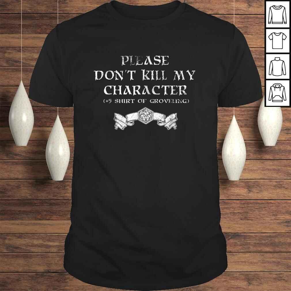 +5 Shirt of Groveling - Distressed Tabletop RPG Shirt Tee Unisex