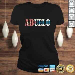 Abuelo Vintage Cuban Flag TShirt