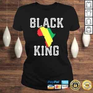 Black King Shirt Boys Kids Melanin Pride History Month TShirt