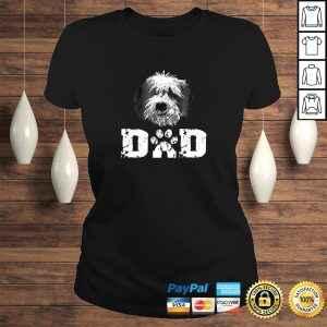 Sheepadoodle Dad Dog Father Tee Shirt