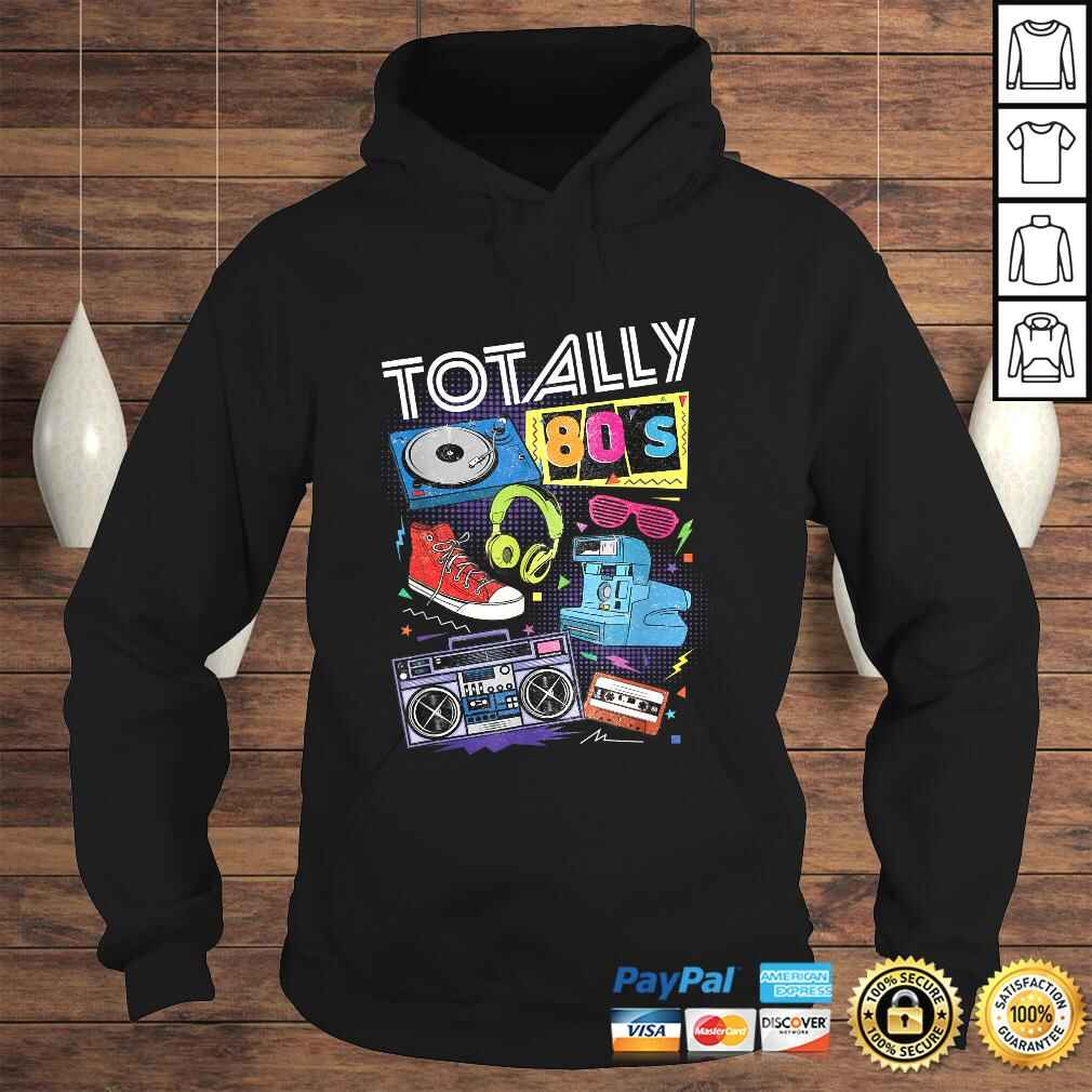 80s Retro Tee 1980s Party Gift Turntable Cassette Tee T-Shirt Hoodie