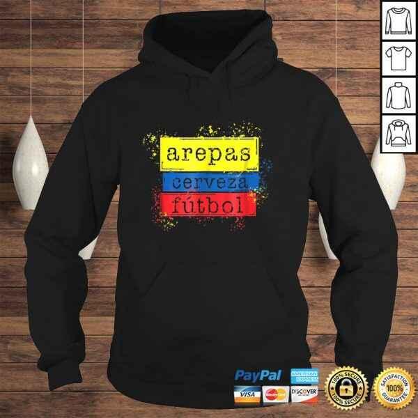 Arepas Cerveza Futbol Colombian Flag Soccer Jersey 2018