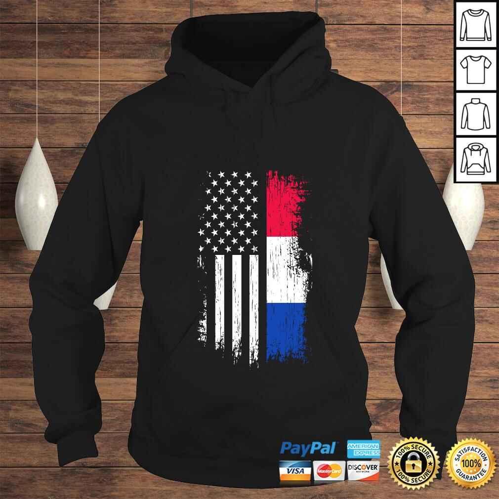 Dutch American Flag - Pride Netherlands USA Pullover Hoodie Hoodie