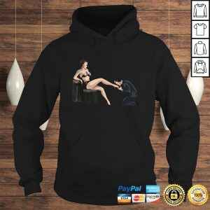 Man In Submission BDSM High Heel Sexy Lingerie Dominatrix Shirt