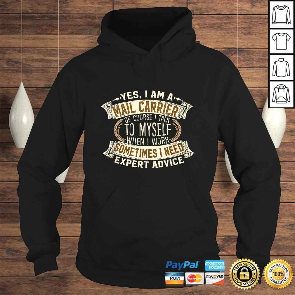 Official Mail Carrier I Men Women I Cool Postman I Mailman V-Neck T-Shirt Hoodie