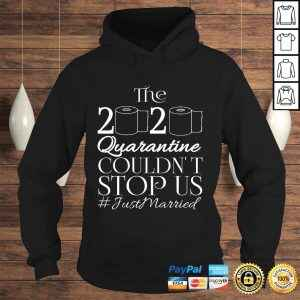 Official The 2020 Quarantine Couldn't Stop Us Just Married Tee T-Shirt