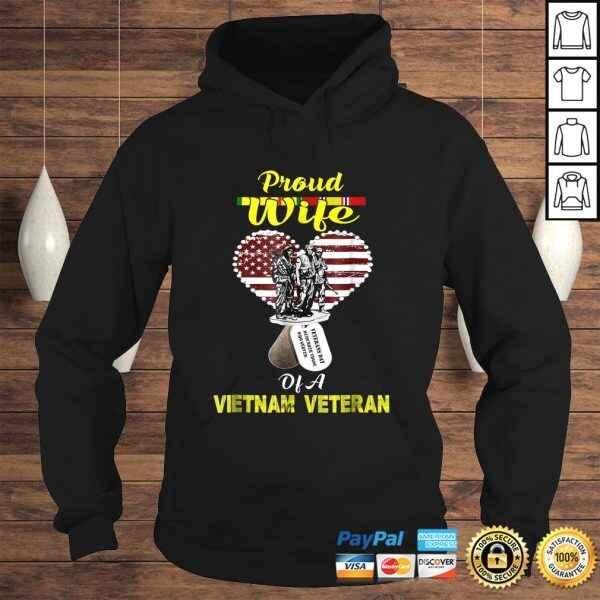 Proud Wife Of A Vietnam Veteran Shirt