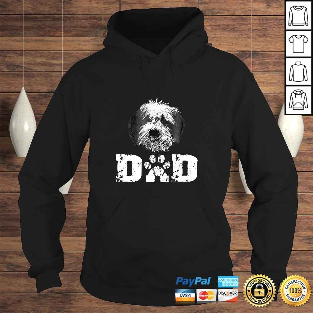 Sheepadoodle Dad Dog Father Tee Shirt Hoodie