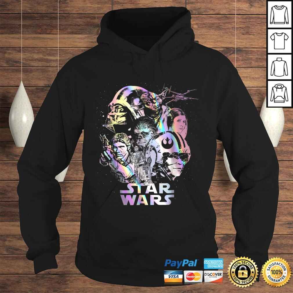 Star Wars Rebel Heroes Darth Vader Glimmer Graphic Shirt Hoodie